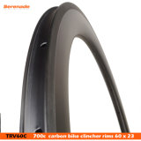 Горячая продажа дизайн высокого качества жесткость Superlight китайского 60 мм в высоту колеса велосипеда Rim