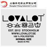 Design personnalisé de haute qualité T-shirt pour les vêtements d'Étiquette de transfert de chaleur