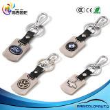 Porte-clés de trousseau de clés de logo de véhicule en métal de la pièce d'auto 3D de mode
