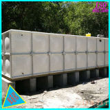 El FRP SMC Seccional GRP tanque de almacenamiento de agua de fibra de vidrio de control de incendios