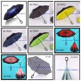 ビジネスギフト雨傘手の開いた広告のゴルフ傘