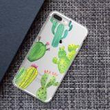 Cas mou de couverture des silicones clairs ultra-minces en caoutchouc neufs TPU pour l'iPhone de Samsung S8 S7 S6 S5