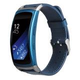 Bracelete de vigilância inteligente de couro Gemuine Alça para Montar Engrenagem Samsung 2