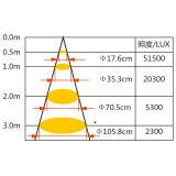 Светодиодные светильники акцентного освещения с помощью микросхемы для набегающей Osram бутик/Gallery/роскошный магазин (БЕЛЯ-DW-D12)