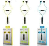 無線ハンズフリーISOの表示多機能のBluetoothのヘッドセットをハングさせる首