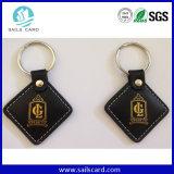 125 kHz de la etiqueta RFID de llavero ABS clave para el sistema de control de acceso