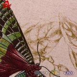 Ammortizzatore quadrato decorativo su ordinazione del Linnet stampato Digitahi della farfalla