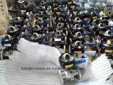Caixa de limitação Operada por Alavanca ISO5211 2PC Válvula Esférica Flangeada