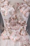 O vestido de casamento novo do vestido nupcial da esfera da borboleta do projeto veste P0082
