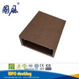 Du grain du bois Le bois plastique anti-UV mur composite bardage à prix compétitif