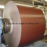 PPGI, PPGL, folha de aço com revestimento de cor, impressão bobina de aço galvanizado