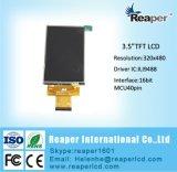 Hvga 3.5 eingebaute MCU/RGB Bildschirmanzeige der Zoll LCD-Ili9488 320X480 Schnittstellen-TFT LCD