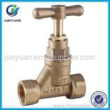 Válvula de batente de bronze de Pex-REINO UNIDO Copression com a válvula de controle de ISO/Brass