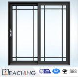 На заводе Гуандун горячей продавец двойной алюминия из закаленного стекла боковой сдвижной двери