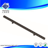Solo Color DC24V Linear Luz LED Bañador de pared