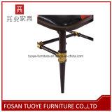 Cadeira moderna chinesa por atacado do restaurante do metal do ferro do fabricante