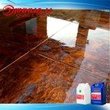 Pavimento a resina epossidica metallico duro libero stupefacente di DIY per il rivestimento concreto
