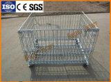輸送のための鋼線の網ロール容器