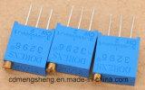 PCBによって取付けられるトリマーの電位差計