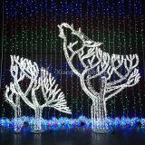 蝶Opticaのファイバーのモチーフライト防水屋外のクリスマスおよび休日の装飾