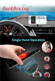 Chargeur sans fil de téléphone mobile de Qi de support sec portatif de véhicule avec l'adaptateur usb duel