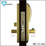 Sistema interurbano do fechamento de porta do hotel do metal do cartão do furto da tecnologia Secundário-Gigahertz