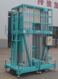 (12m) Azul cuadruplicar la antena de los mástiles de la plataforma de trabajo