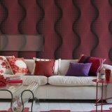 Papel pintado casero impermeable del diseño del vinilo natural del PVC con alta calidad
