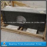 Vorfabrizierter Verde Ubatuba Granit-Kostenzähler für Küche und Badezimmer