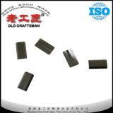 Pieza inserta del carburo de tungsteno de la carpintería de cuchillos reversibles especiales