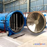 Full Automation를 가진 3350X5000mm ASME Certified Laminated Glass Autoclave