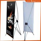 Размер Custome 60*160 80*180см рекламных плакатов печати дисплея регулируемая подставка X баннер
