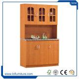 Indisch pvc 3 van het Type de Goedkope Houten Keukenkast van de Deur voor de Reeksen van de Keuken