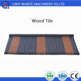 Классицистический деревянный тип камень откалывает Coated плитку толя металла