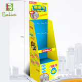 Heiße Verkaufs-Papphaken-Bildschirmanzeige für Reinigungs-Produkte
