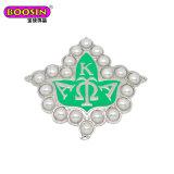 Kappa van de Brieven van de douane de Griekse Alpha- Alpha- Juwelen van de Meisjesstudentenclub van de Broche Aka