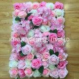 Искусственные цветы роз стены высокое качество свадебных этапе фоном для декоративной