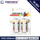 bateria recarregável de China Fatory do hidruro do metal niquelar 1.2V (HR03-AAA 1100mAh)