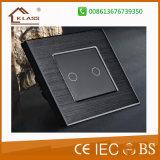 Interruttore di lusso della parete del campanello per porte dello schermo di tocco del comitato di cristallo