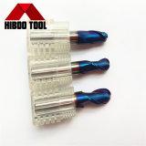 Cortadores de trituração revestidos Nano baratos do nariz da esfera do preço HRC65 de China