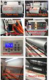 2018 película de plástico el exceso de velocidad alta de la máquina de corte con agua caliente de estilo de venta