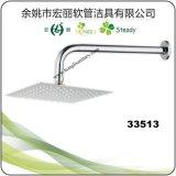 Testa di acquazzone sottile dell'acciaio inossidabile con il braccio di acquazzone quadrato