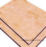 Material de decoración de PVDF Panel Compuesto de Aluminio ignífugo