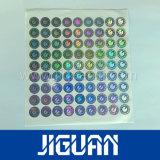 De vrije Stickers van het Hologram van het Certificaat van de Steekproef Waterdichte Zelfklevende
