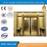 Porte antincendio di vetro Rated alto di trasmissione dell'isolamento termico (EI) 30-90minutes di valutazione