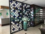 L'intérieur sculptés en aluminium de cloison de métal pour un bâtiment moderne de l'écran