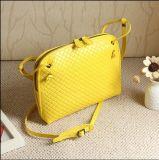 단순한 설계 다이아몬드 살창 메신저 부대 Crossbody 어깨에 매는 가방 핸드백