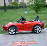 차가운 다채로운 4 바퀴 전기 아이 차