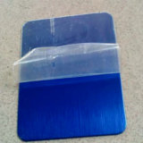 Голубая нержавеющая сталь волосяного покрова покрывает 304