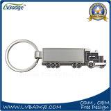 Keyring popular de encargo caliente del metal de la insignia del coche